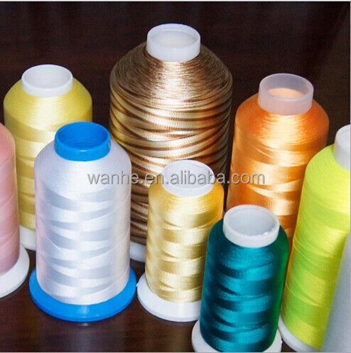 2017 hot sale 120D/2 100% Polyester Embroidery Thread