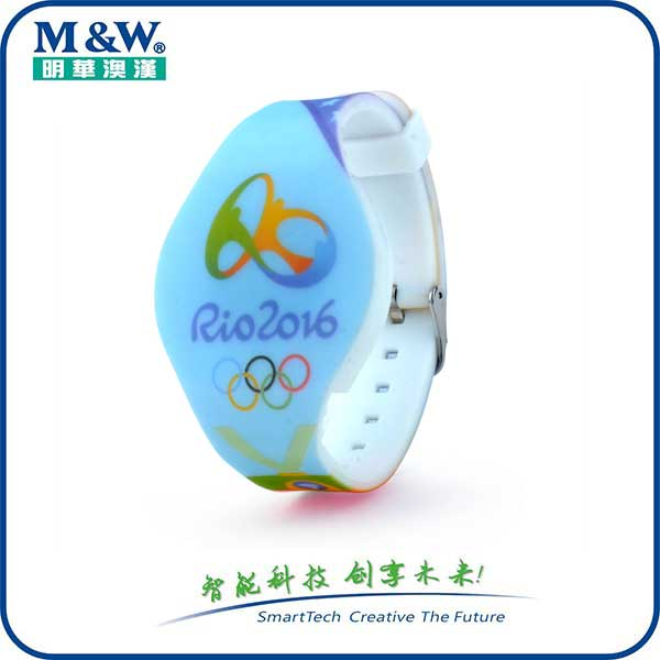 Silicone Colorful watch strap MWgd1704