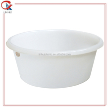 Rotomolding disposable stackable round plastic wash basin for sale