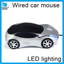 FACTORY SUPPLY mini car shaped wired classic mouse