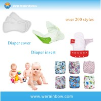 Promotional Cute Happy Flute Baby Cloth Diaper Cover