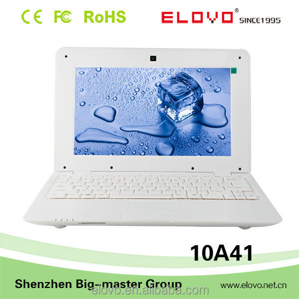 Device model 10A41 mini laptop computer OEM brand 10 inch android 5.0 laptop