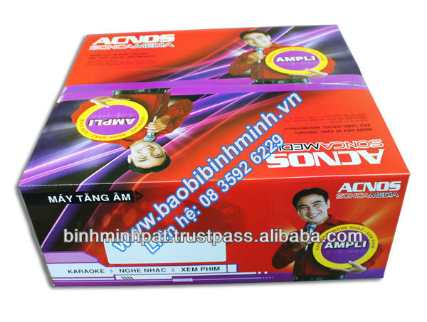 Amplifier ACNOS Carton Boxes Of SONCAMEDIA