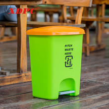 European pedal plastic household living room recycle cute trash can bin dustbin for garden or house hold