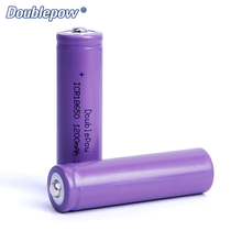 3.7V 1200mAh Full high capacity rechargeable 18650 li ion battery with SHARP TOP