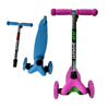 2017 newest high quality 3 wheel foldable mini kick scooter for sale