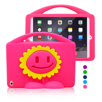 Kids Shockproof 3d cartoon silicone case for ipad mini 4 tablet case