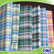 TC 65/35 polyester cotton yarn dyed stripe shirt fabric/bedding fabric