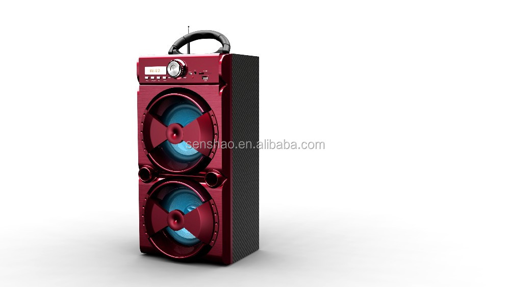 MS-51 wholesale big sound two way speaker with bluetooth function,cheap price speaker support USB/SD/AUX/FM radio function