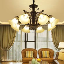 Glass LED ceiling chandelier children book room master bedroom restaurant living room lighting