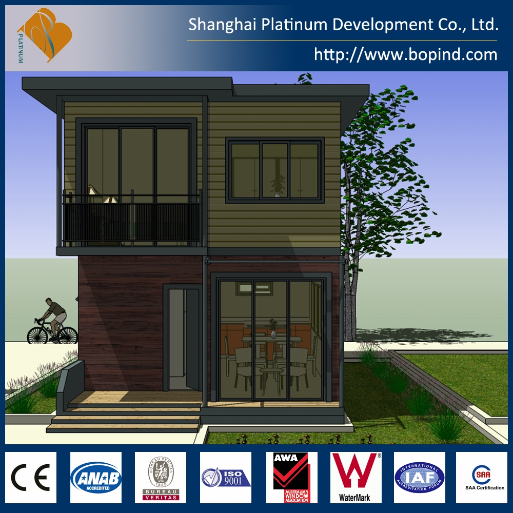 China Supplier Modular House (69 m.sq) mobile home, prefab homes, safest portable building
