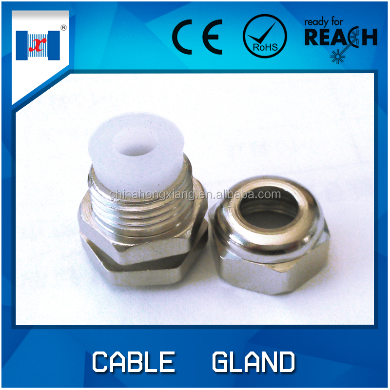 HongXiang waterproof brass electric cable gland rubber