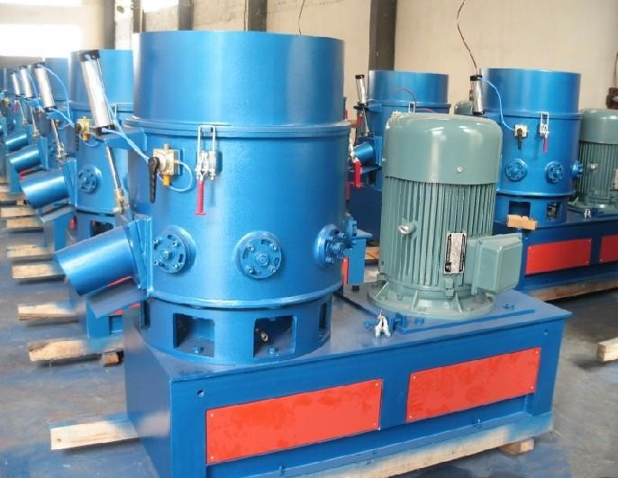 high output agglomerator densifier recycling machine