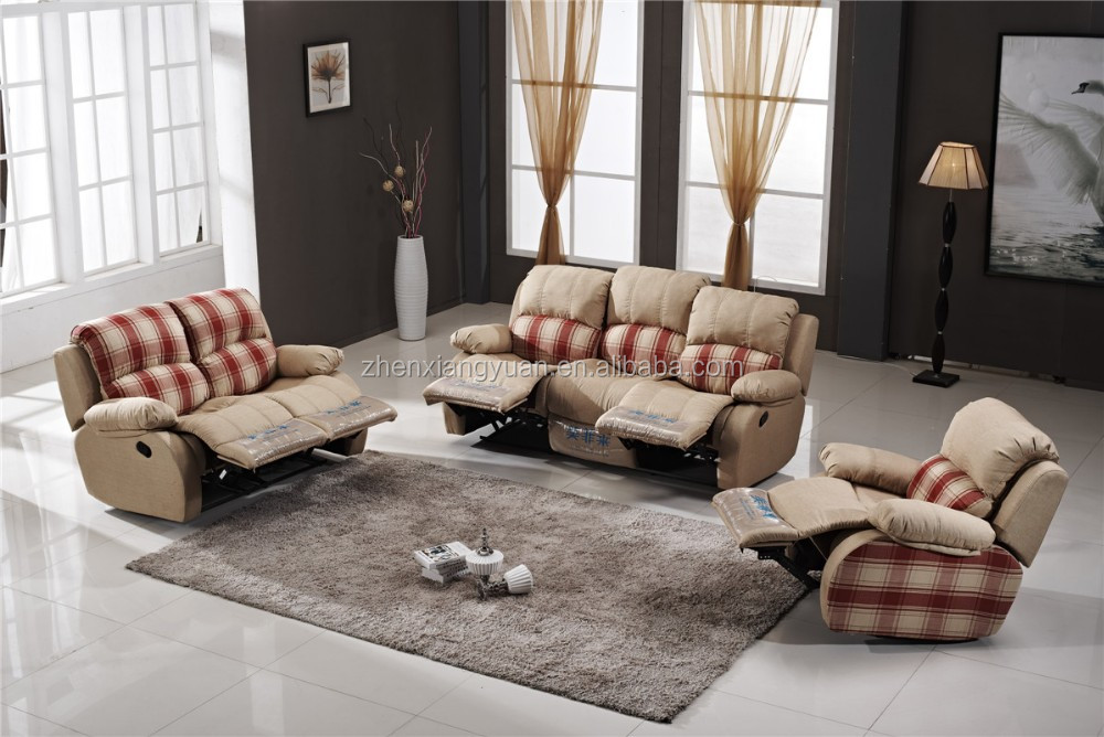 Wholesale portable reclining sofa with living room sofa set