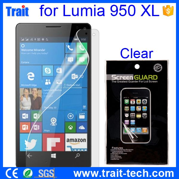 Ultrathin Clear Surface Anti-Scratch Fingerprint Free Screen Protector For Microsoft Lumia 950 XL