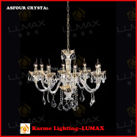 Lumax italy style crystal lamp for decoration living room fit