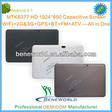 "apad 7"" android tablet pc with MTK8377 chipset 2G/3G calling GPS Bluetooth FM HDMI function"