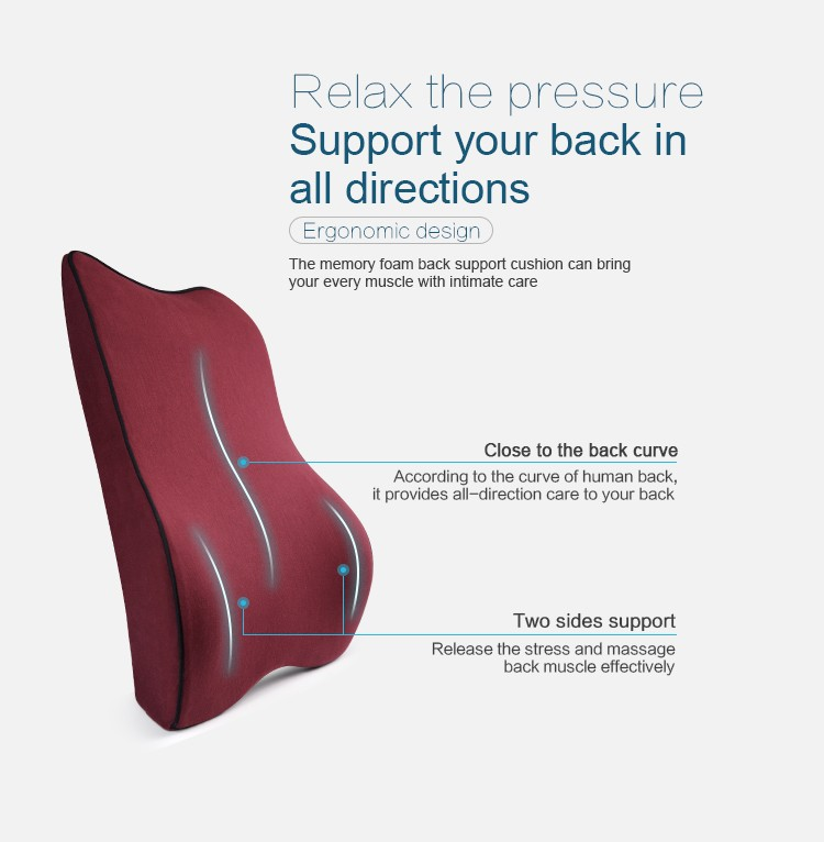 BYC Office Chair Seat Lumbar Support Pictures Show