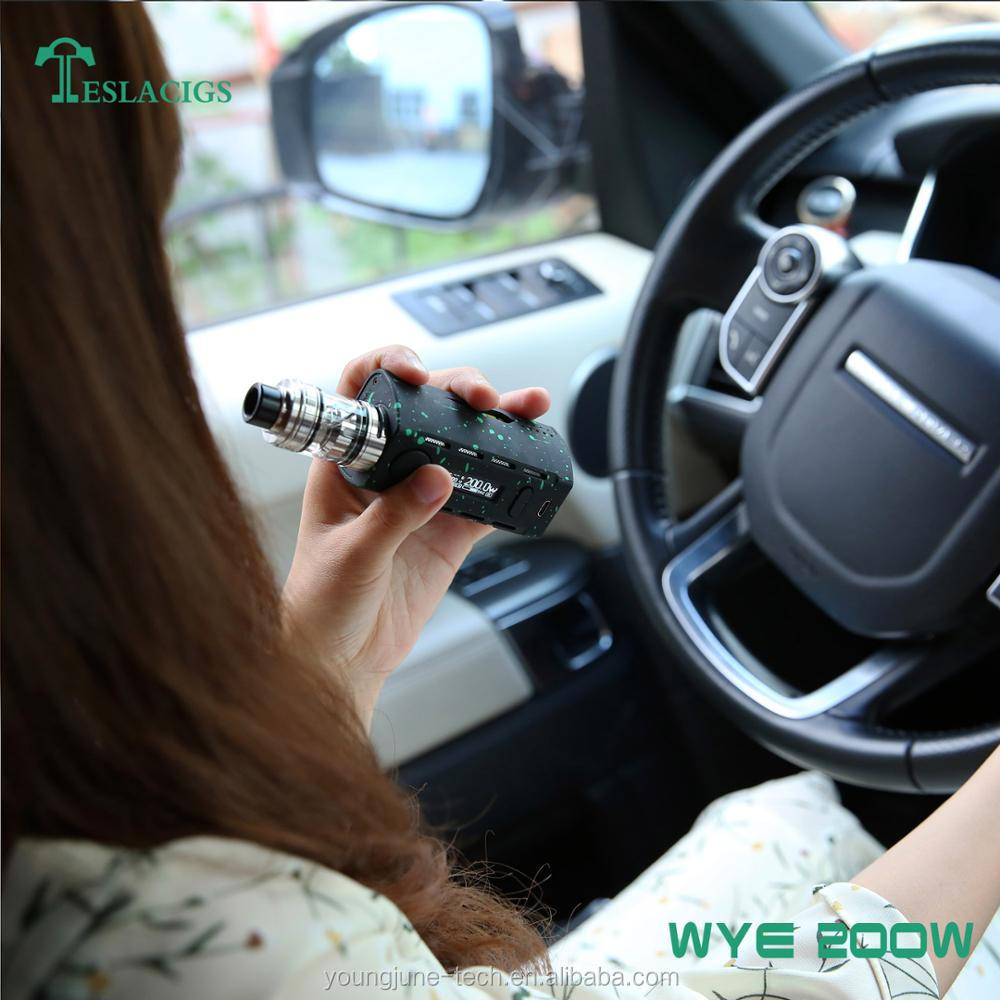 2017 hot selling vape WYE 200W with mod lightweight 64.5g and mini size for business royals cigarettes
