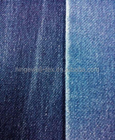 100% Cotton Material and Twill Style denim fabric