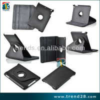 rotate 360 degrees folding leather case cover for ipad mini