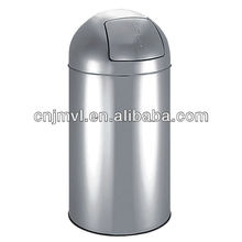 2013 Dailyart Household Esentials Winsome stainless steel indoor round homely swing top waste bin