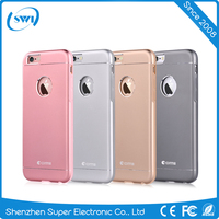 Mobile Phone Aircraft Aluminum+PC+TPU Case Cover For Iphone 6 6S 6 Plus Shell