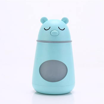 ultrasonic aroma diffuser Mini Portable USB Car Humidifier Cool Mist LED Night Light With Fan Mute Air Humidifier