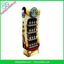 2016 innovative shop fittings Retail display stand Starbucks coffee display rack