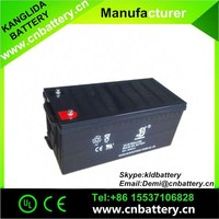 12v 200ah deep cycle gel battery for wind power generator