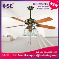 Chinese Foshan promotion gift decorative ceiling fan with nice appearance