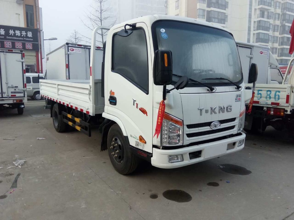 Hot Sell China Cheap Price Light Duty 4x2 Samll Mini 1 ton 2 ton 3ton 5 ton t-king truck