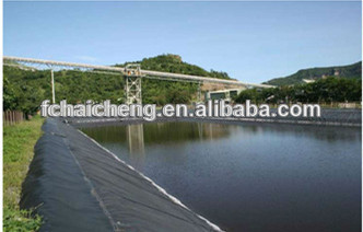 El drenaje de geomembrana hdpe de alta calidad de for Precio de estanques de geomembrana para peces