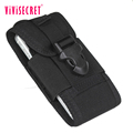 High-end handmade phone case outdoor sport tactical military molle mobile phone pouch