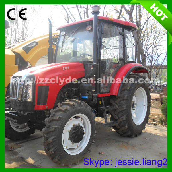 Best Selling 95 hp 4x4 drive Agricultural traktor for farm use