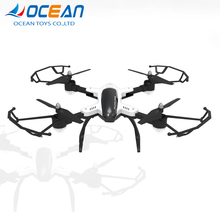 Top quality 2.4g folding quadcopter 4ch rc air plane with change speed