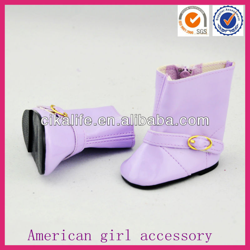 Hot sale Eco-friendly cute vintage boots for doll