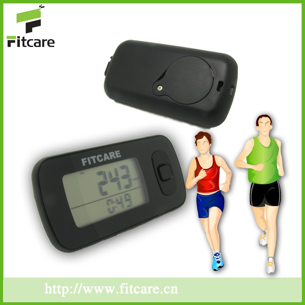 3d g-sensor Mini 3d pedometer digital pedometer With calorie counter,walking distance counter