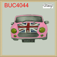 BUC4044 Lovely England flag pink mini car belt buckles