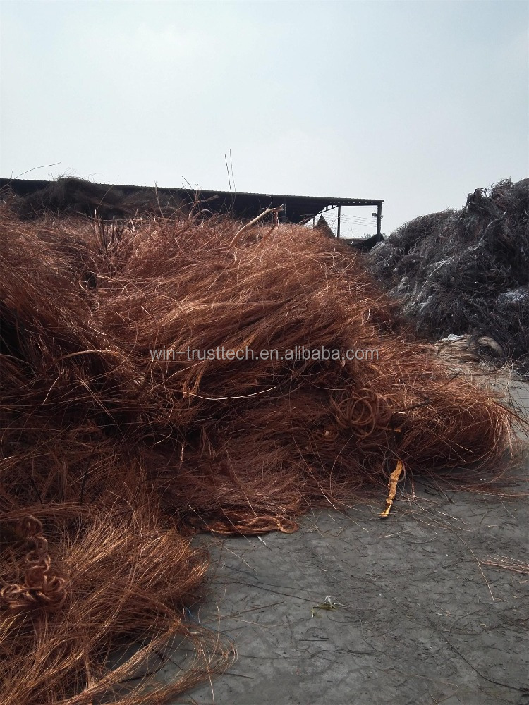LME QUALITY GOOD SALE COPPER WIRE SCRAP , MILLBERRY 99.99% WITH BEST PRICE