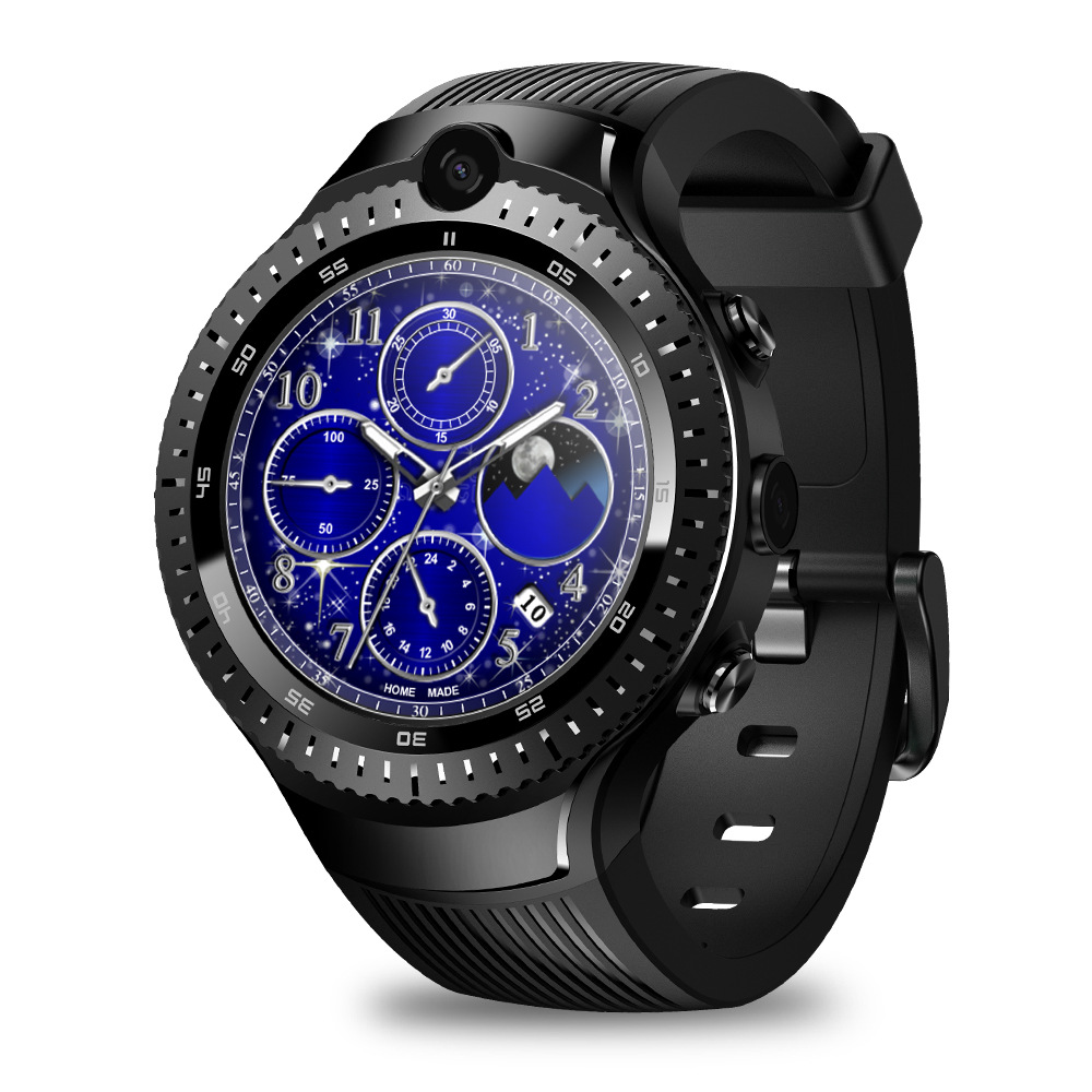 Versatile GPS Smart Watch With Touch Screen 530mAh Battery Support Sim Card Camera for Android <strong>Phone</strong> <strong>W100</strong>