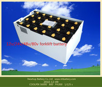 Forklift battery 48v 500ah traction battery price
