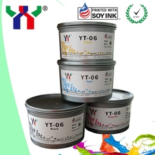 YT-06 Offset Melamine Soy Ink For MELAMINE Foil Paper uv printing ink sheet fed high gloss and dry fast
