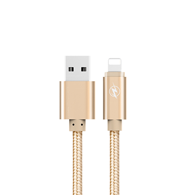 MFi certified manufacturer best braided MFi 8 pin charging cable 2.4a for iPhone 8/iPhone X