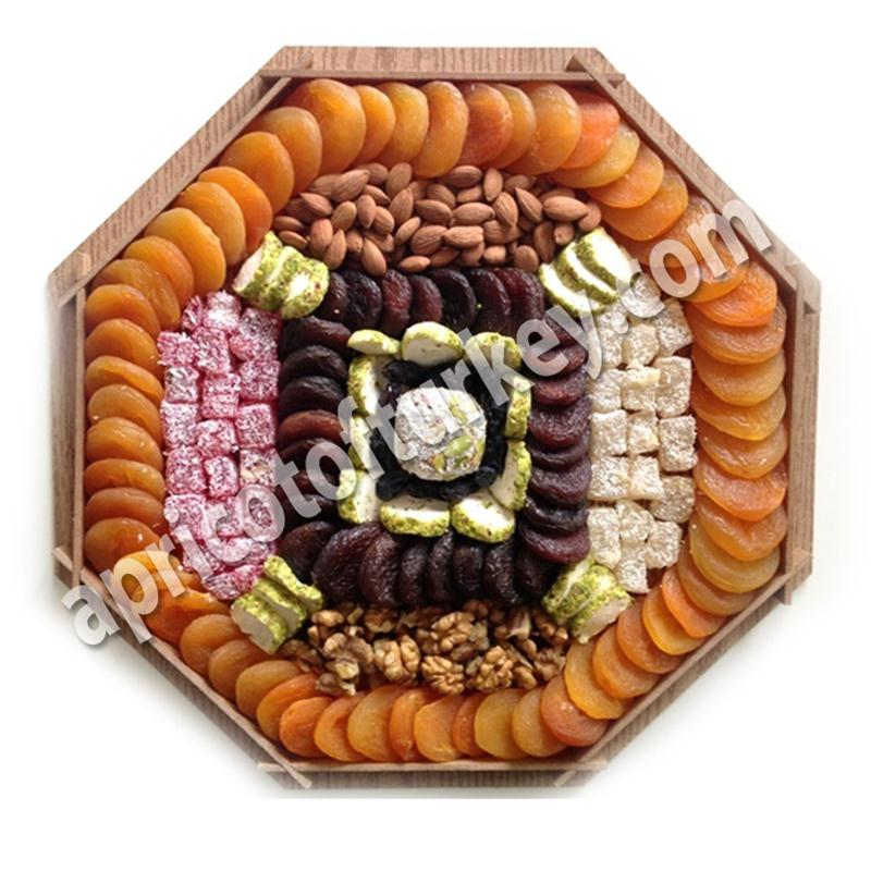 Gift Package 76, Turkish Apricot, Dried Apricot, Dried Fruit, Nuts, Candy, Sweet, Confectionery, Marshmallow