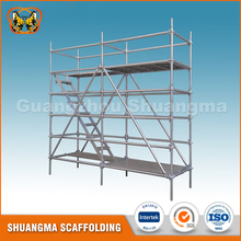 High Stability Q235 Steel Scaffolding Ringlock Stage