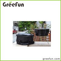 2016 Stock Inventory Promotional Updated Improved Factory Direct Sale Portable Mini Charcoal BBQ Grill With Takeaway Cooler Bag