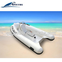 RIB Boat PVC Or Hypalon RIB Infaltable Boat For Entertainment