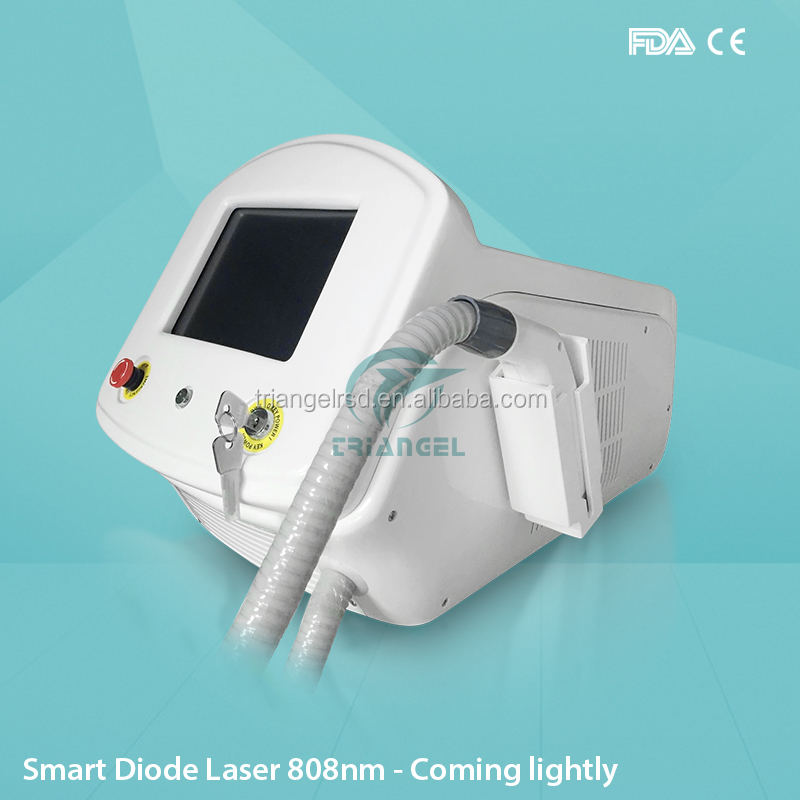 Triangel white Portable 808 diode laser
