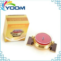 YMC-D08 360 degree auto rotating jewellery solar battery powered china jewelry displays stand